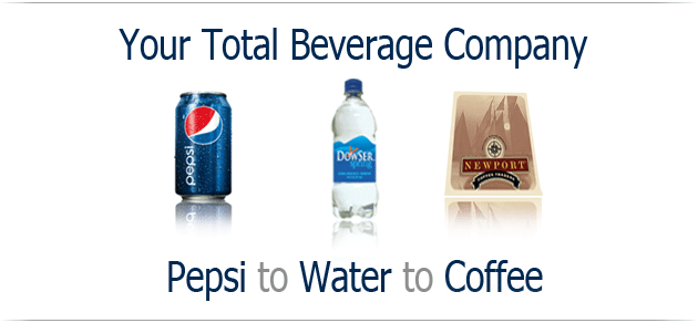 Something for Everyone Pepsi to Water to Coffee