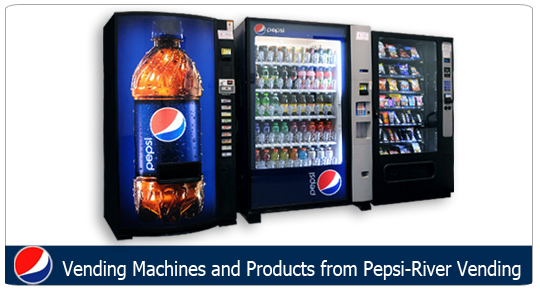 pepsi vending services soft drink cold beverage snack