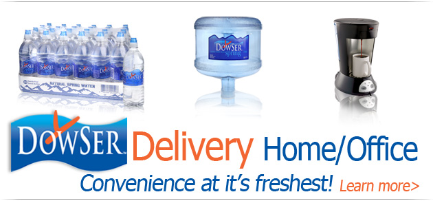 Dowser Home Office Water Delivery
